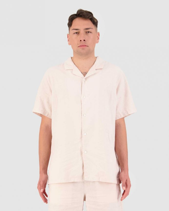 LIN-IN SS CUBAN SHIRT