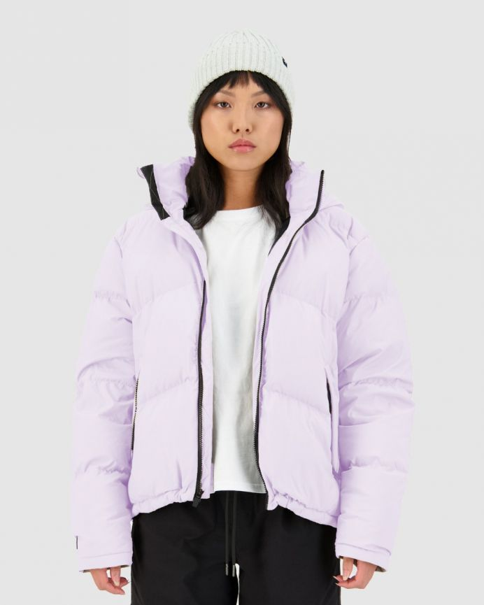 WMNS BLOCK DOWN JKT LILAC