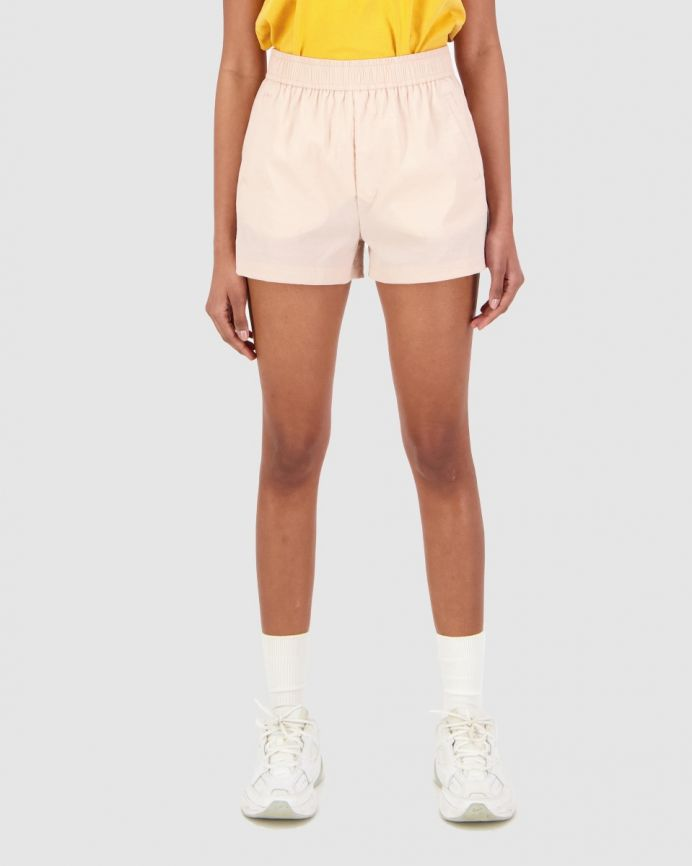 RISE SHORT/HOLD GUM PINK