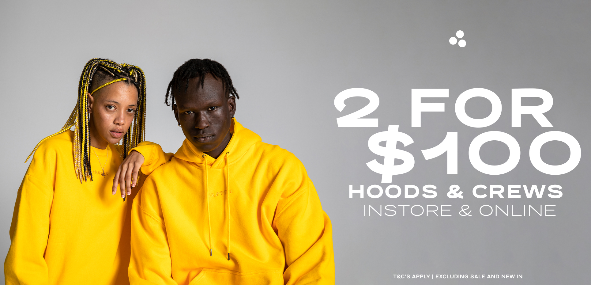 2 for $100 Hoods and Crews